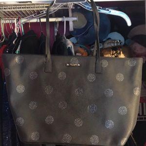 Kate Spade glitter polka dot shoulder bag